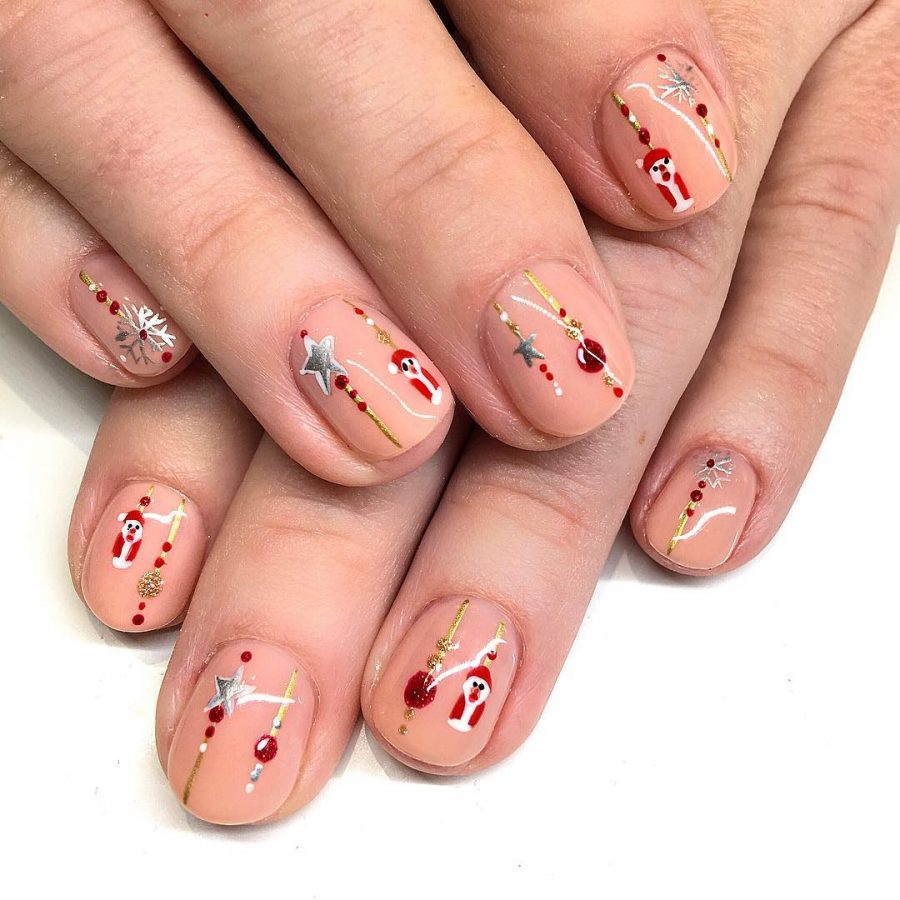 13 holiday-inspired nail art designs to try this season