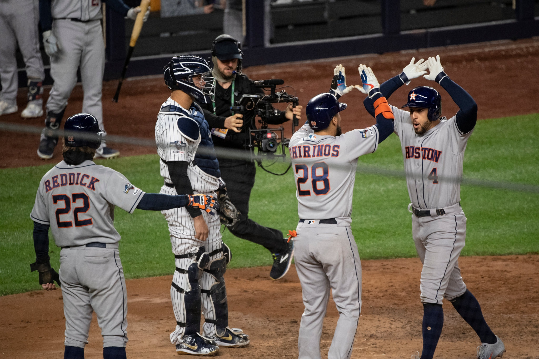 How the Astros Beat the Yankees in Game 4 of the A.L.C.S.