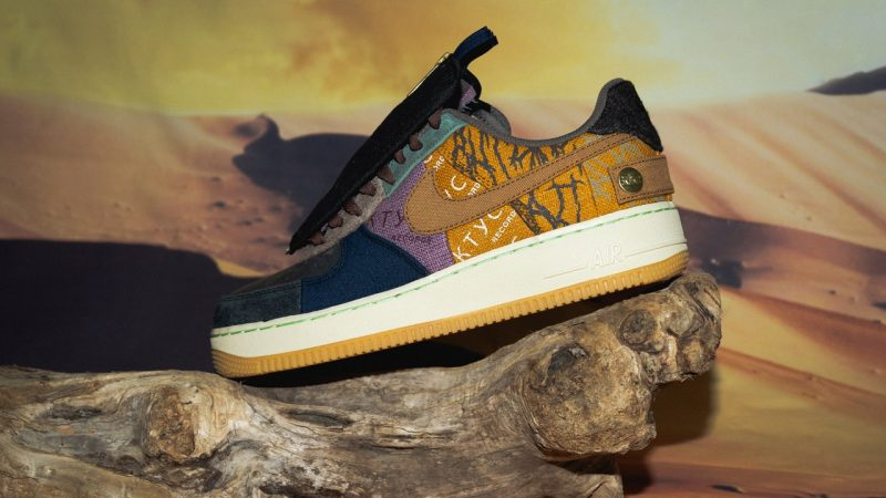 """A Closer Look at the Travis Scott x Nike Air Force 1 """"Cactus Jack"""""""