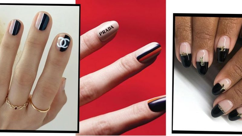 The Logomania Mani Is The Latest Nail Art Trend To Take Over Social Media