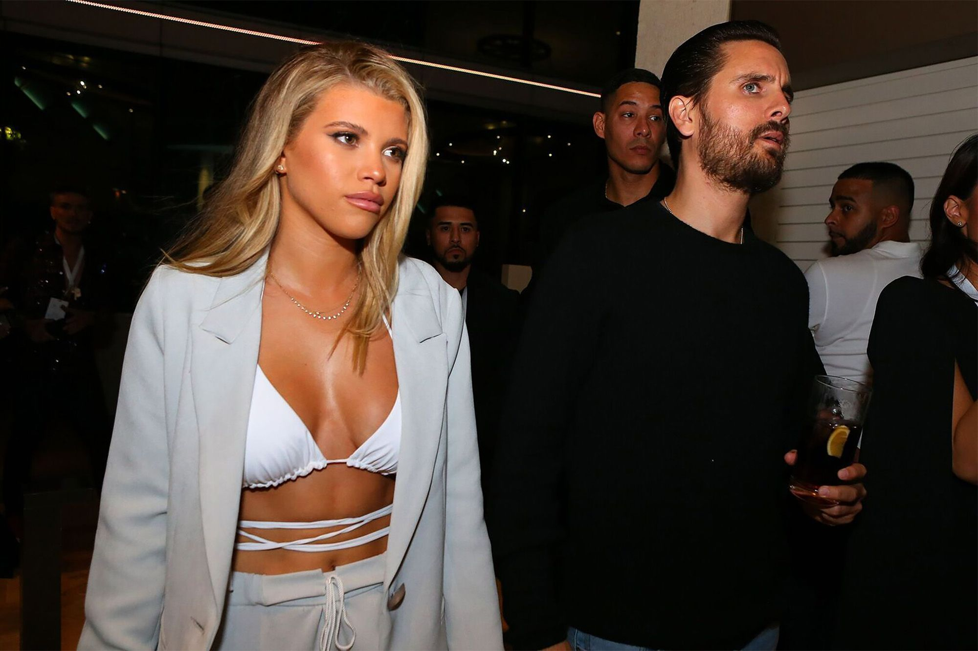 Sofia Richie flaunts her envy-inducing abs in a TINY pink bikini as she gushes about 'living her best life' in saucy Instagram snap