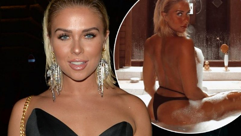 Gabby Allen shares sensational topless photo amid Dan Osborne controversy