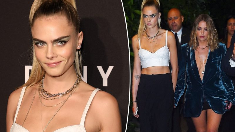 Cara Delevigne announces she and Ashley Benson 'broke up' after 19-month romance… but it appears as if she was hacked on Twitter