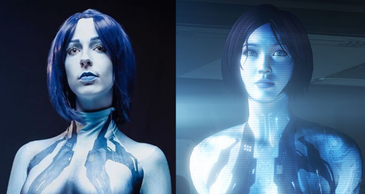 Cosplay of the Day: Melissa aka Meltdown87 as Halo's Cortana