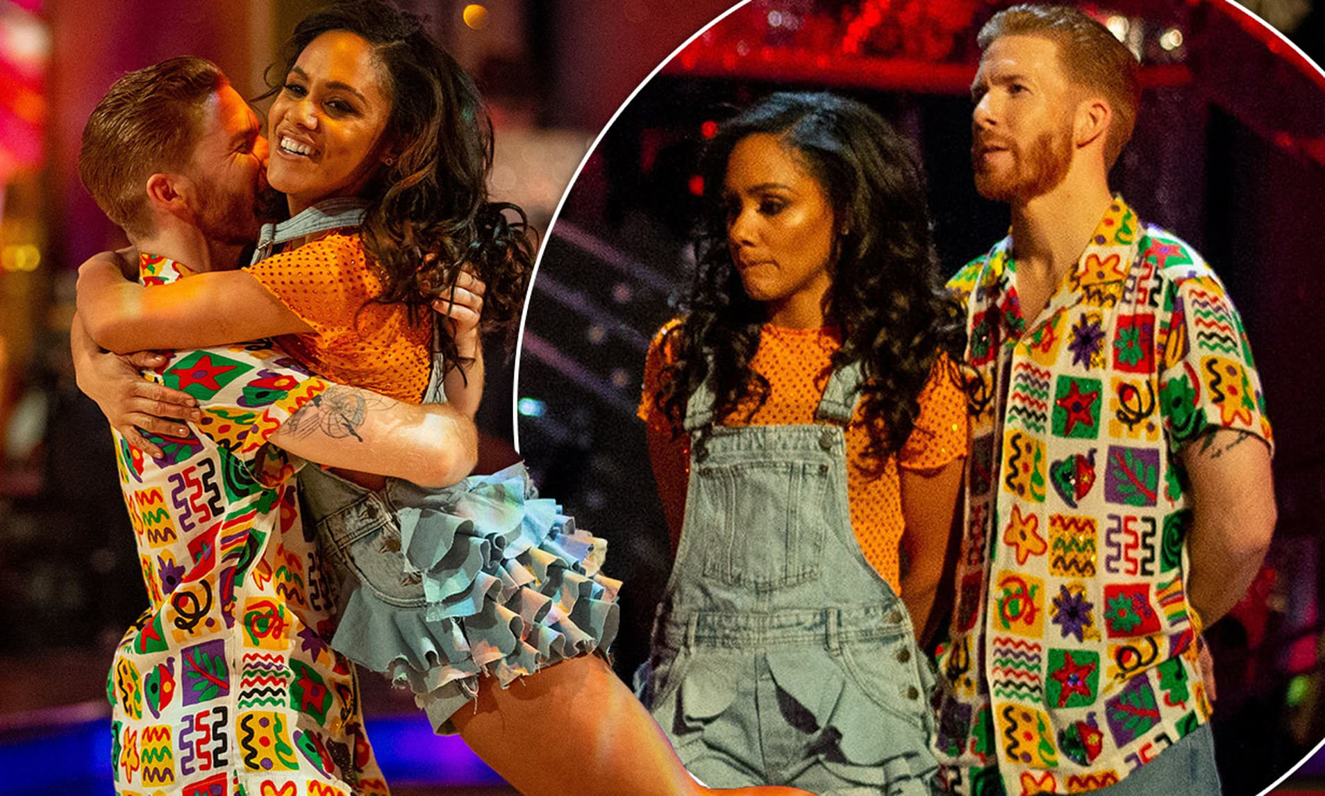 Strictly Come Dancing: Viewers brand show a 'FIX' as Alex Scott and partner Neil Jones are sent home after technical glitch causes voting problems