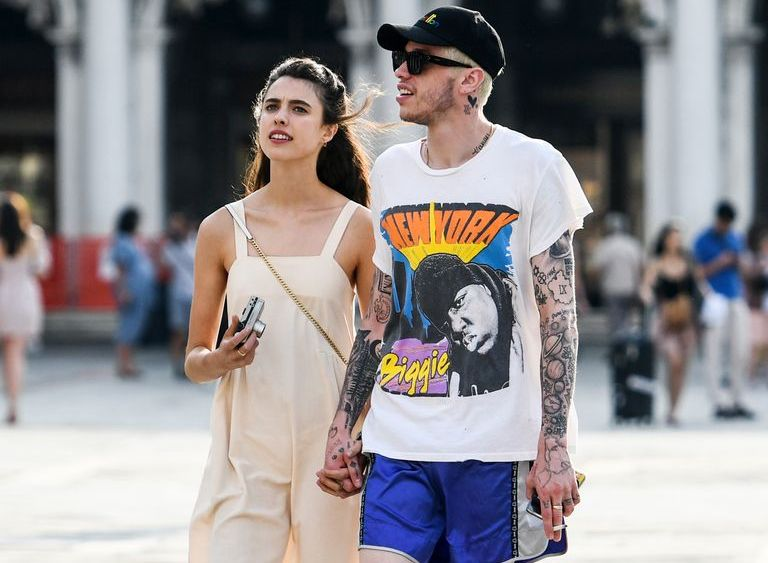 Pete Davidson and Margaret Qualley Confirm Dating Rumors By Holding Hands in Venice