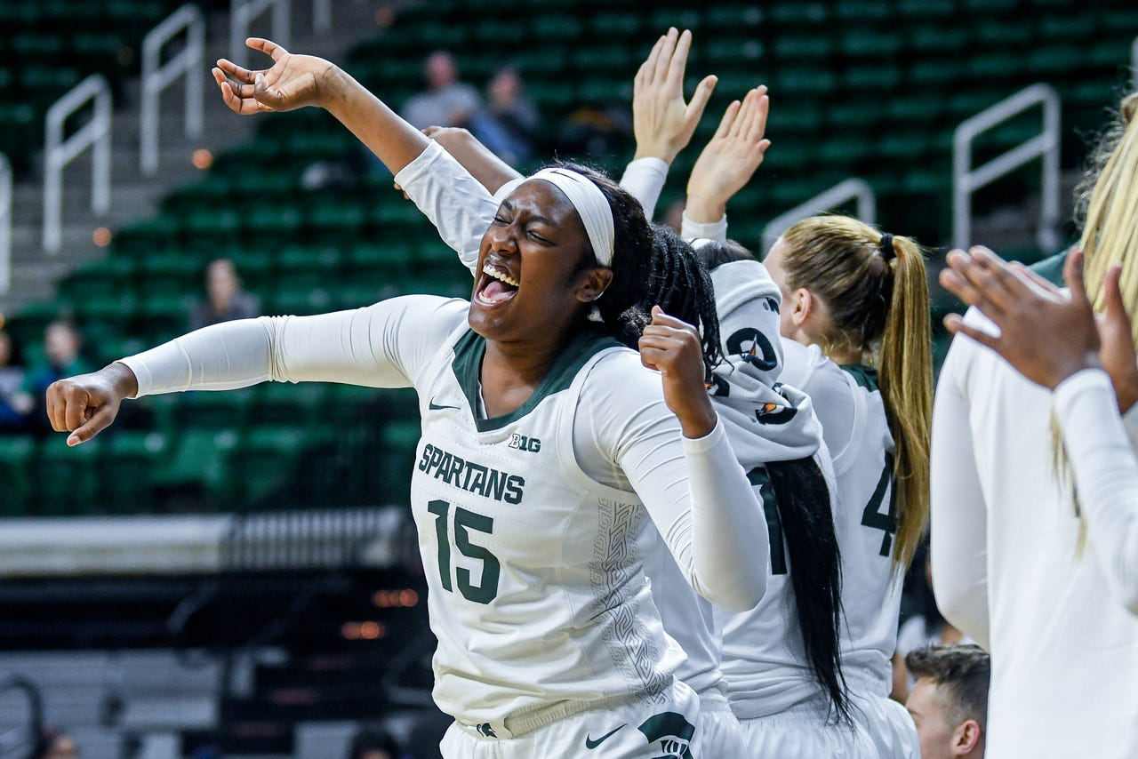 Michigan State vs. Eastern Michigan women's basketball