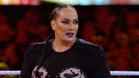 Nia Jax Finds Her Footing on the Top Rope at WrestleMania 35