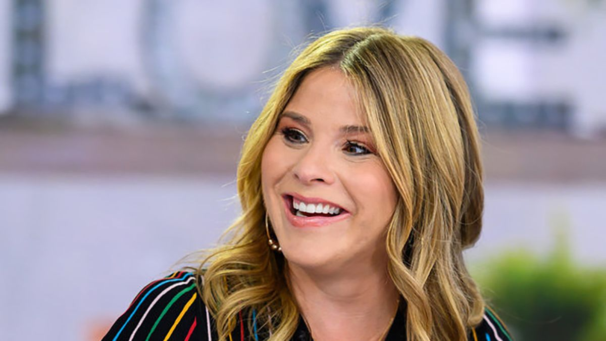 Jenna Bush Hager returns to 'Today' after welcoming son: 'I cried on his little head'