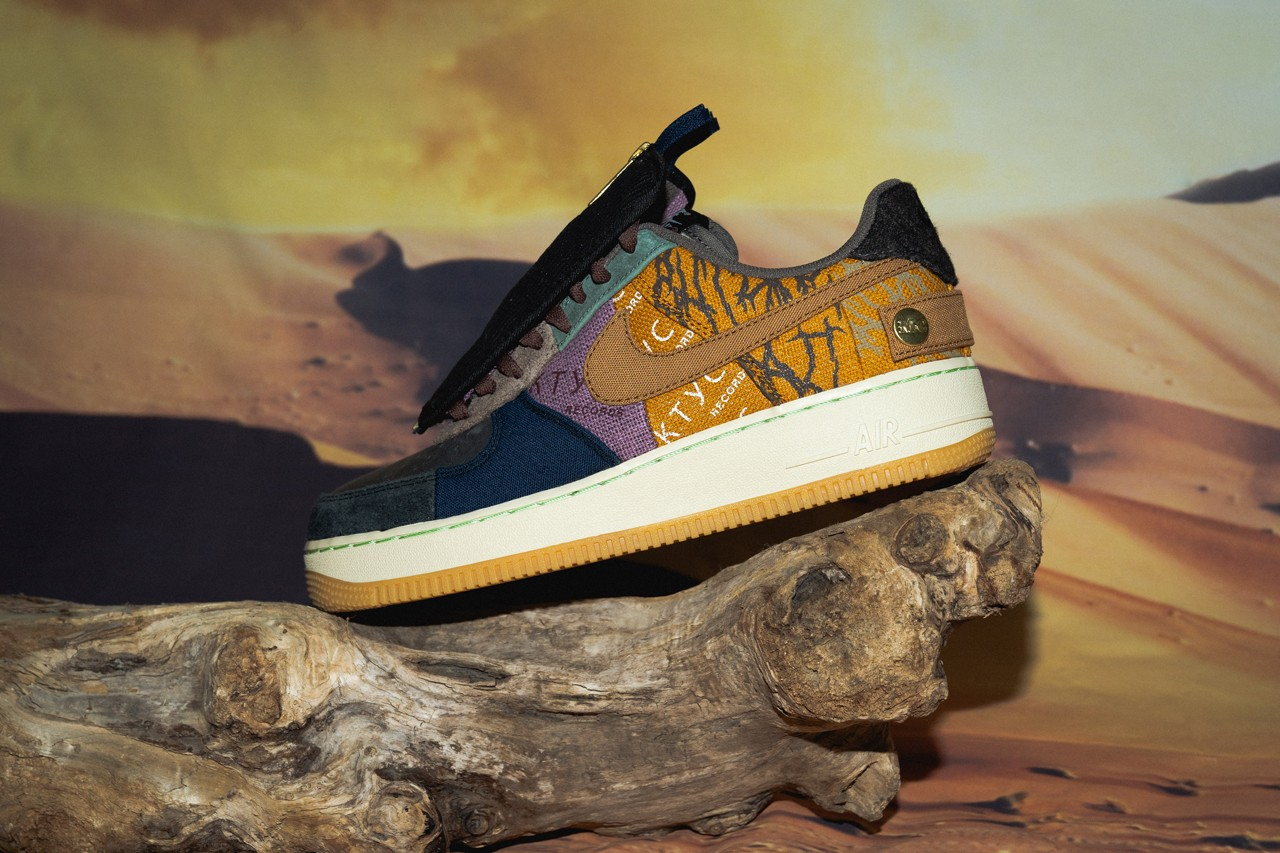 "A Closer Look at the Travis Scott x Nike Air Force 1 ""Cactus Jack"""