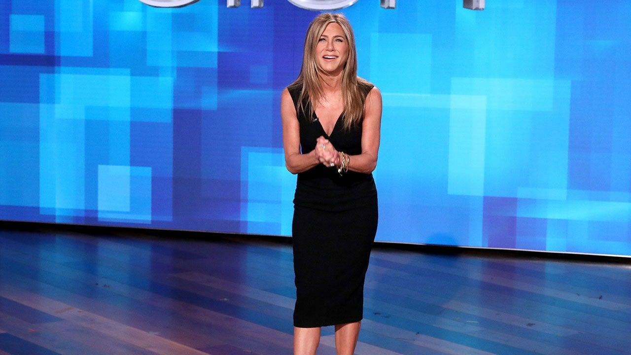 Watch Jennifer Aniston scare the hell out of people on the Friends set