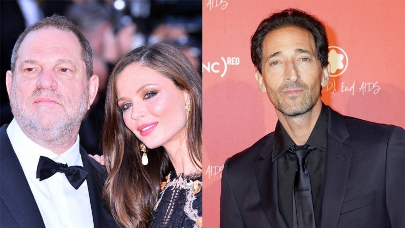 Harvey Weinstein's ex-wife Georgina Chapman now dating actor Adrien Brody