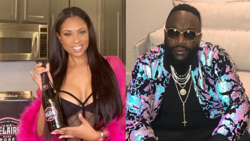 Rick Ross Ex-GF Calls Out Jennifer Williams For Alleged Relationship With Rozay