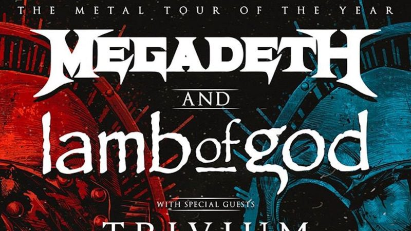MEGADETH + LAMB OF GOD Announce 2020 North American Tour; TRIVIUM And IN FLAMES To Open