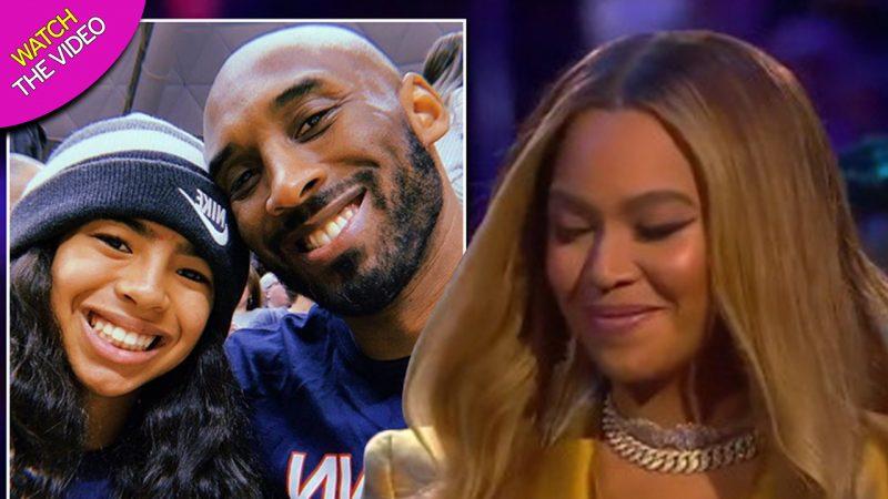 Beyonce struggles through performing Kobe Bryant's favourite song XO at memorial