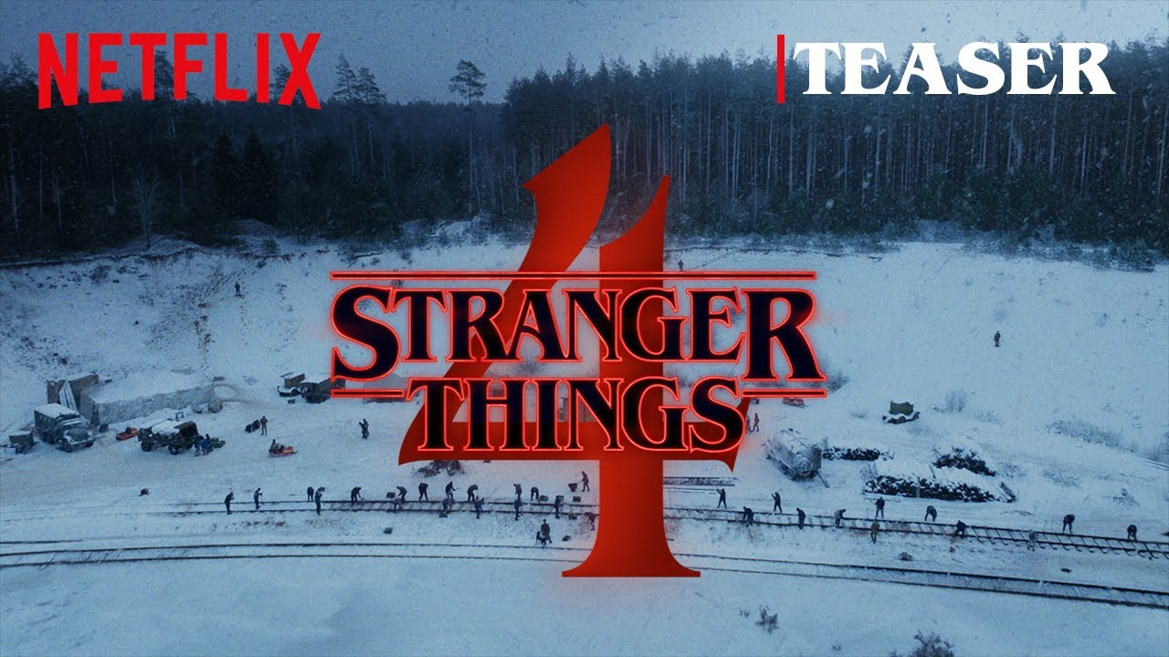 Someone's still alive in this snowy Stranger Things 4 teaser