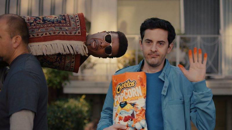 Mc Hammer Knows 'U Can't Touch This'After Eating Cheetos In Snack's SuperBowl Commercial